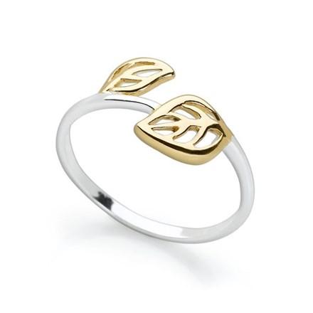 Golden Botanica Ring