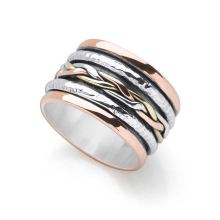 Woven Spin Ring