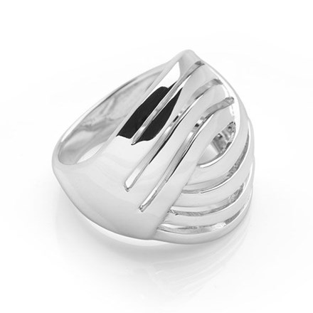 Silver Pacific Ring