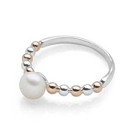 Blushed Pearl Ring