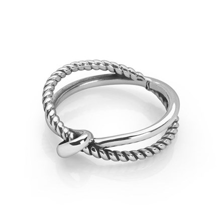 Affinity Charm Ring (Oxidised)