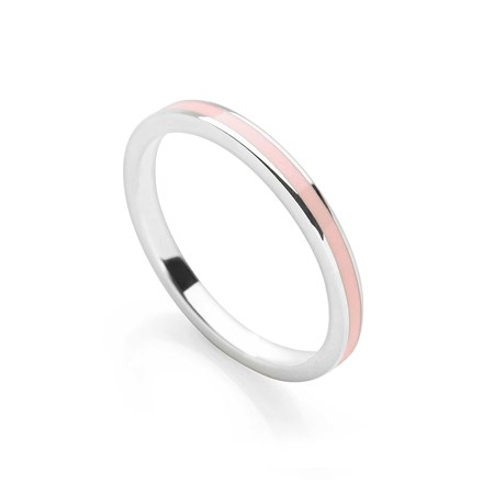 Ice Pink Stack Ring