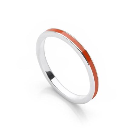 Orange Stack Ring