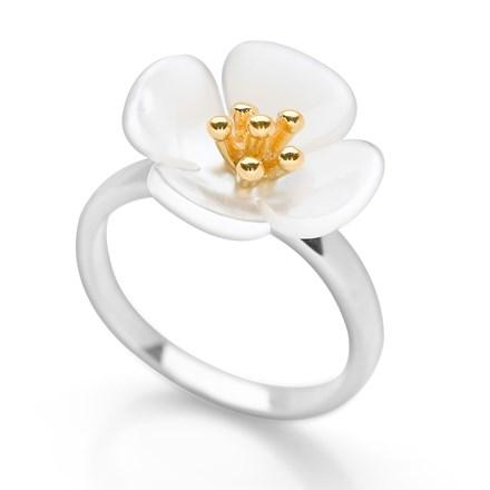 Sweet Petunia Ring