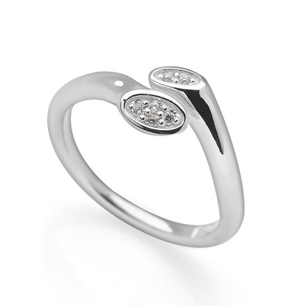Misty Mirror Ring