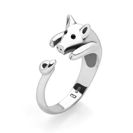Cute Piggy Ring