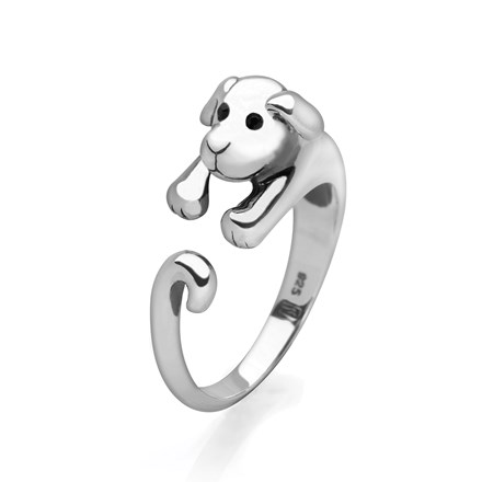 Cute Puppy Ring