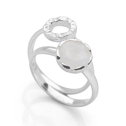 Havana Rings (Set of 2) Silver