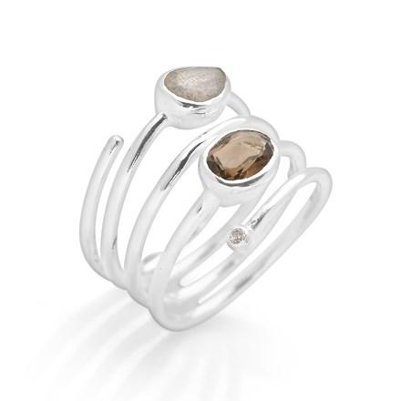 Moonlight Shimmer Ring