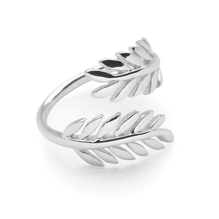 Olive Branch Ring (Adjustable)