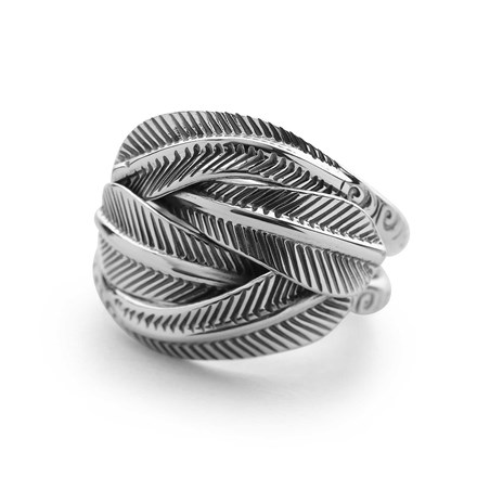 Cradle of Feathers Ring
