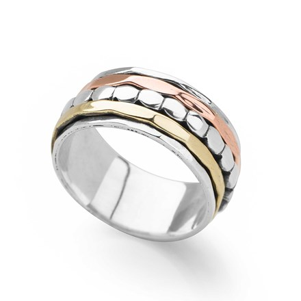 Pebble Spin Ring