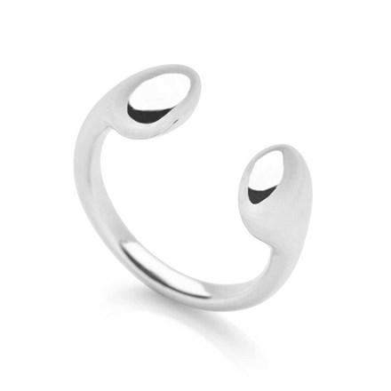 Molten Silver Ring