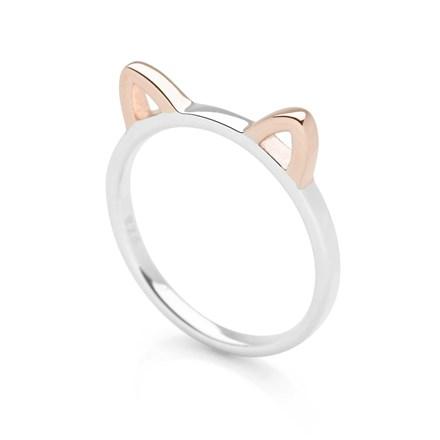 Precious Kitty Ring