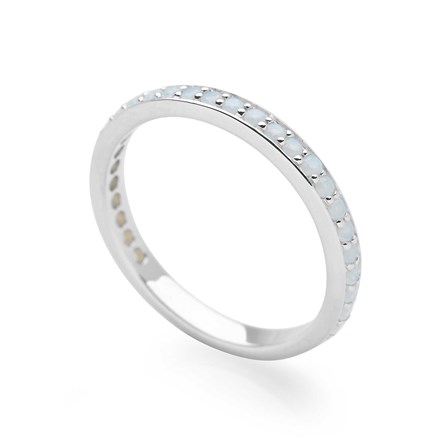 Twilight Eternity Stack Ring
