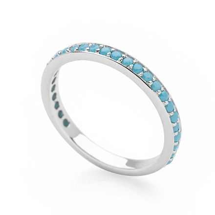 Sky Eternity Stack Ring