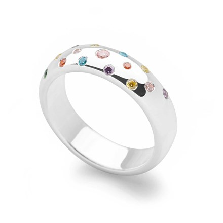 Rainbow Pop Ring