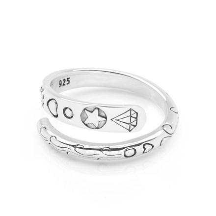 Navajo Wrap Ring (Adjustable)