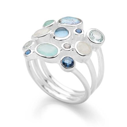 Aqua Drops Ring