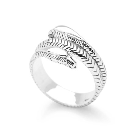 Serpent Embrace Ring