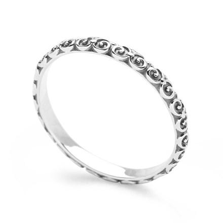 Ornate Stack Ring