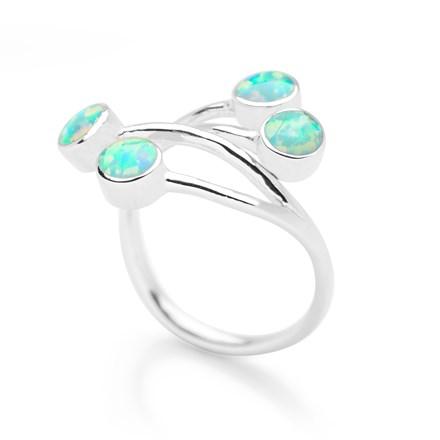 Opal Vine Ring (Adjustable)