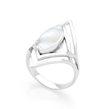 Solstice Snow Ring