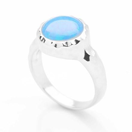 Opal Aura Ring