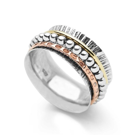 Fireside Spin Ring