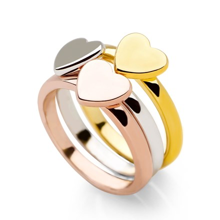 Lots of Love Stack Rings (Set of 3)