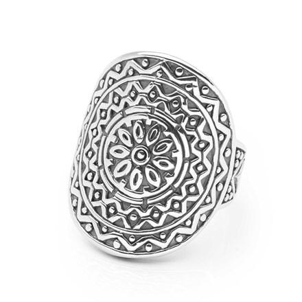 Daisy Mandala Ring