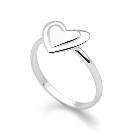 Love in Silver Ring