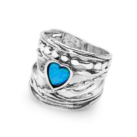 Heart Of Opal Ring