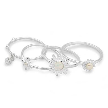 Spiritual Rings (Set of 4)