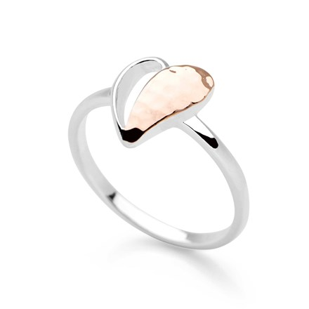 Signature Heart Ring (Rose Gold)