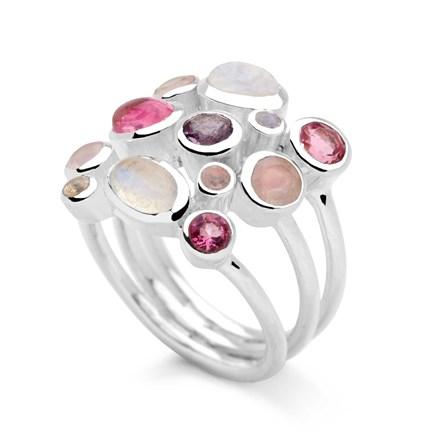 Rose Drops Ring