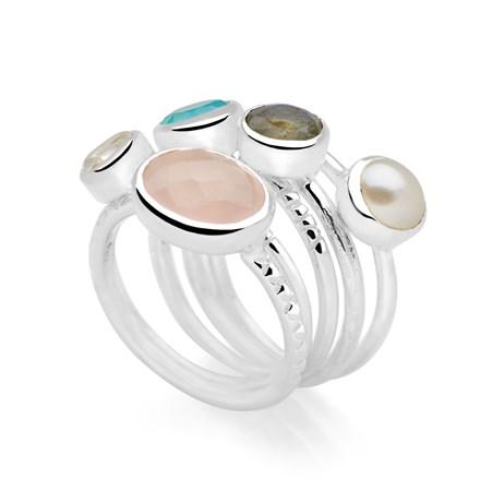 Ocean Bounty Ring (SET OF 5)