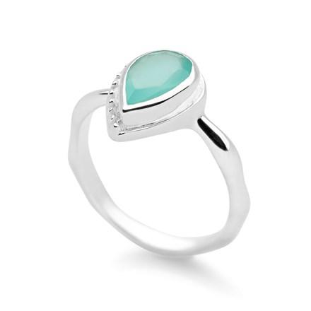 Aqua Bindi Ring