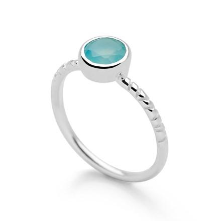 Ocean Bounty Ring (Paraiba Onyx)