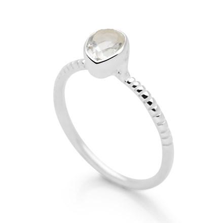 Ocean Bounty Ring (Clear Quartz)