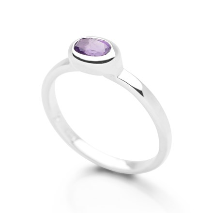 Sixth Sense Ring Amethyst