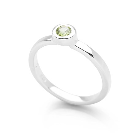 Sixth Sense Ring Peridot