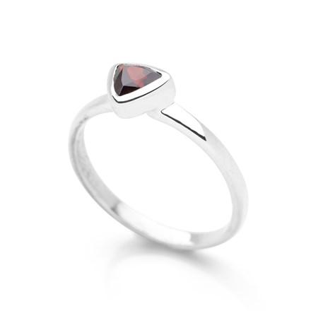 Sixth Sense Ring Garnet