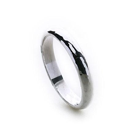 Bali Hammered Ring (Thin)