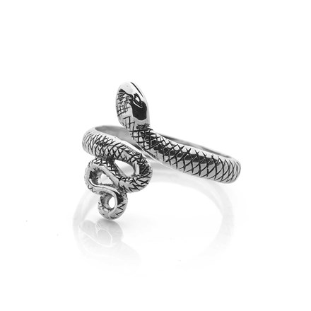 Silver Serpent Toe Ring