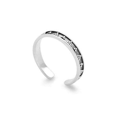 Aztec Toe Ring