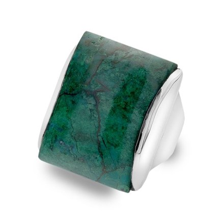 One of a Kind Chrysocolla Ring