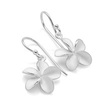 Silver Blossom Earrings