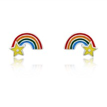 Rainbow Wish Children's Studs