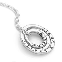 Personalised CZ Name Pendant